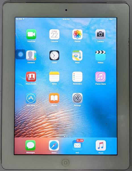 "Buy Used Apple iPad 2 (A1396) 9.7"" Wi Fi + 3G 64GB Silver"