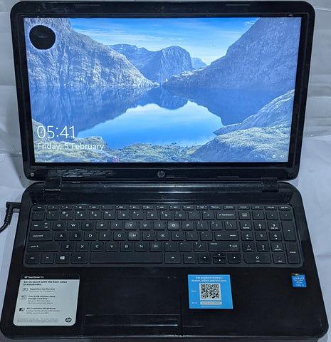 "Buy Used HP TouchSmart 15 15"" Intel Core i3-4th Gen 500GB HDD 4GB RAM Black Laptop"