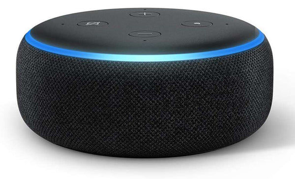 Buy Refurbished Amazon Echo Dot 3 (3rd Gen) – New and improved smart speaker with Alexa Black (Good condition)