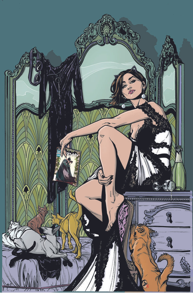 CATWOMAN 1 Cover Wedding Dress copy 1 57ebe