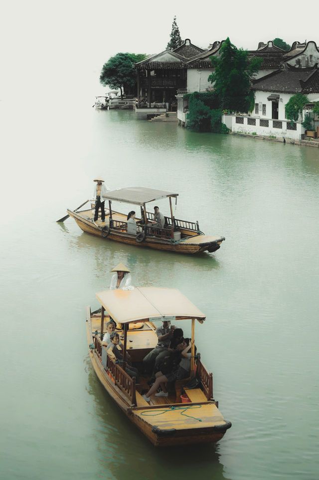Zhujiajiao Boats 3808e
