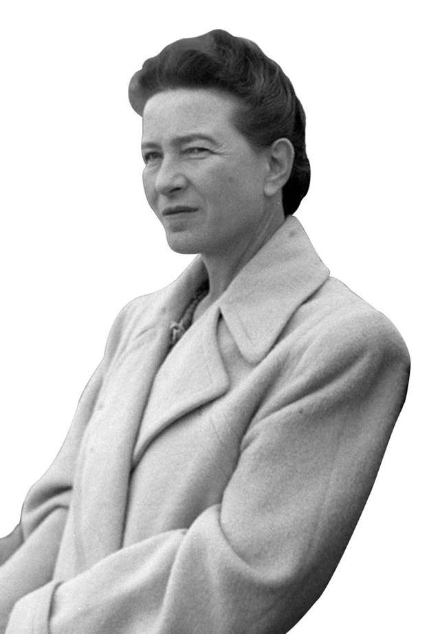 cut Simone de Beauvoir Jean Paul Sartre in Beijing 1955 901d0