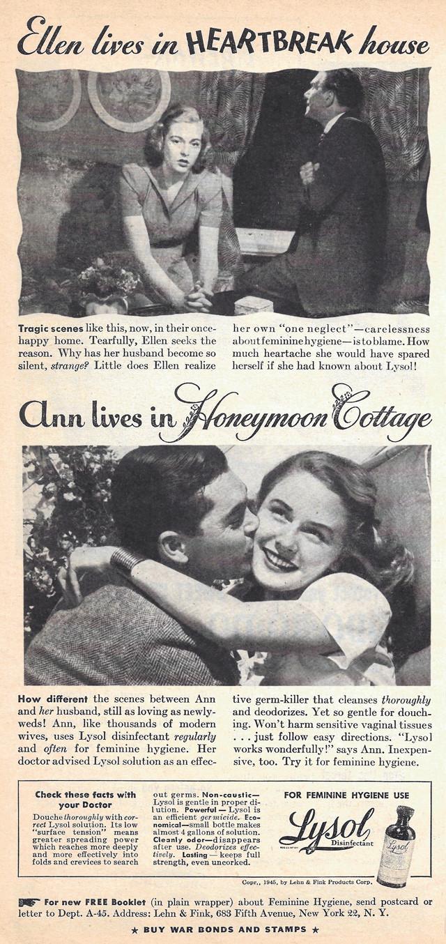 Lysol Ad Honeymoon Cottage e8400