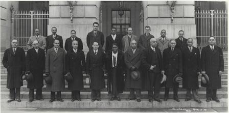 mary mcleod bethune and members of the black cabinet in the 1930s 2d33b