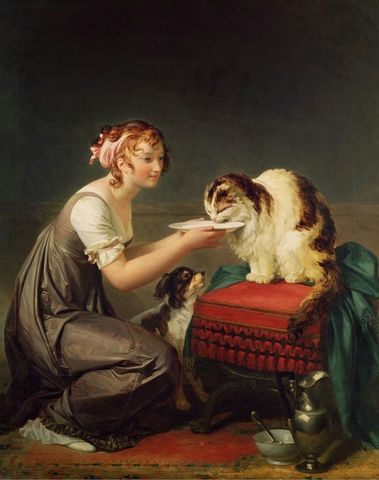 the cats lunch by marguerite gerard 1761 1837 8e0f6
