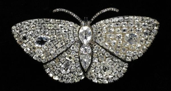 1830 1840 hair pin made of brilliant and rose cut diamonds silver gold via victoria and albert museum 0ba8e