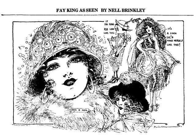Brinkley draws Fay King ac7ed
