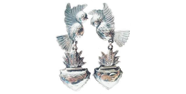 Lovebird Earrings 4dc17