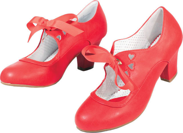 Red Bow Heels 3f22f
