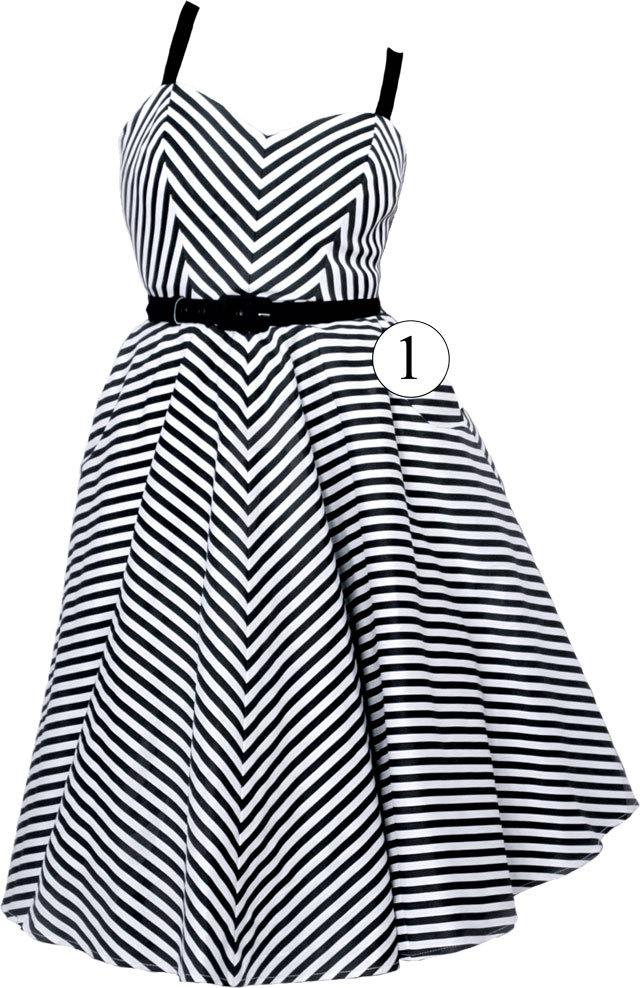 Striped Dress 1b56c