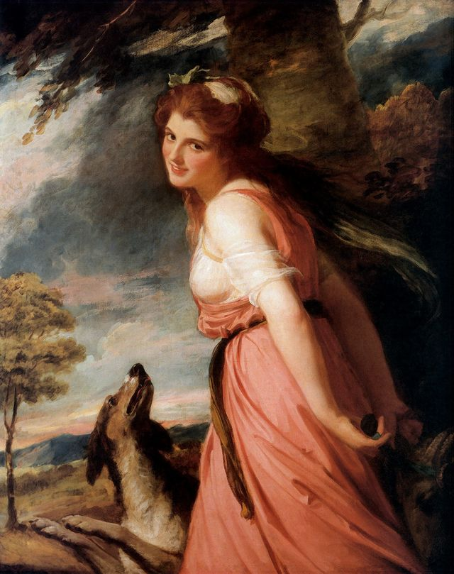 lady hamilton as a bacchante by george romney 1784 dcf51