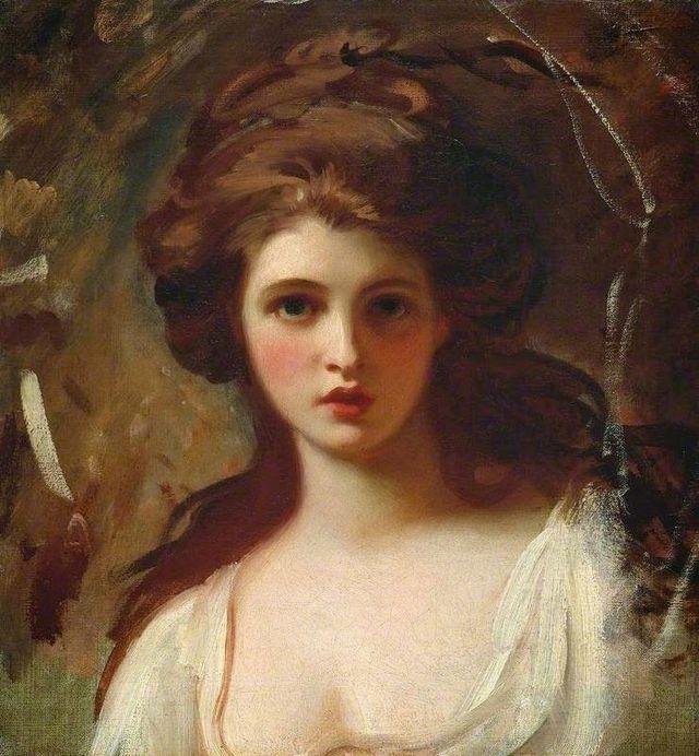 lady hamilton as circe by george romney 1784 df821