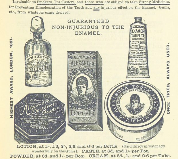 1894 Toothpowder Advert e1537122929888 8116c
