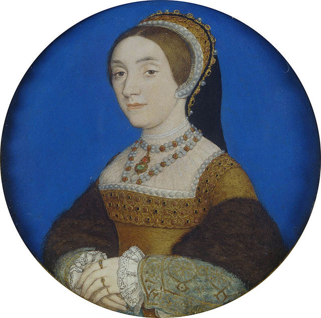 Hans Holbein the Younger Portrait of a Lady perhaps Katherine Howard Royal Collection 86020