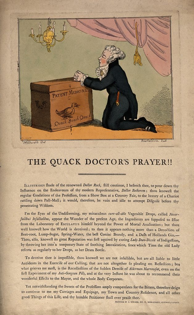 a medicine vendor and practitioner by t rowlandson 1801 after g woodward 629x1024 6c32e