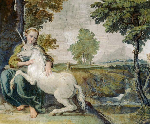 giulia farnese as e28093 a young lady and a unicorn by domenichino ca 1602 e1523284045776 a7bfd