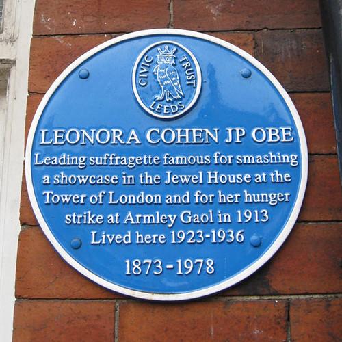 leonora blue plaque 100d5
