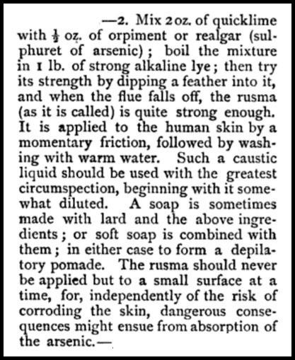 quicklime depilatory beetons dictionary 1871 5f9c5