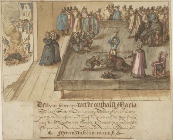 the execution of mary queen of scots artist unknown 1 3e711