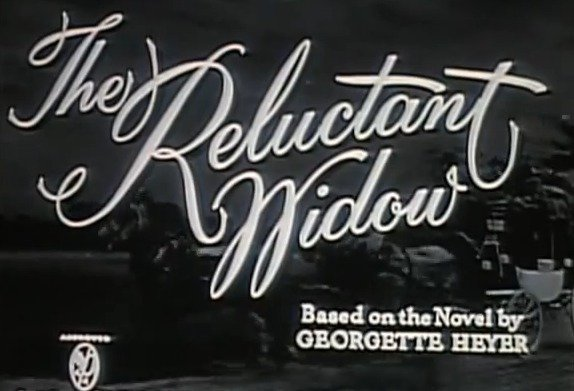 the reluctant widow 1950 title 6af4e