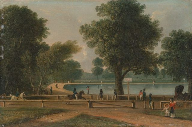 the serpentine hyde park by george sidney shepherd mid 19th century 768x510 74bc7