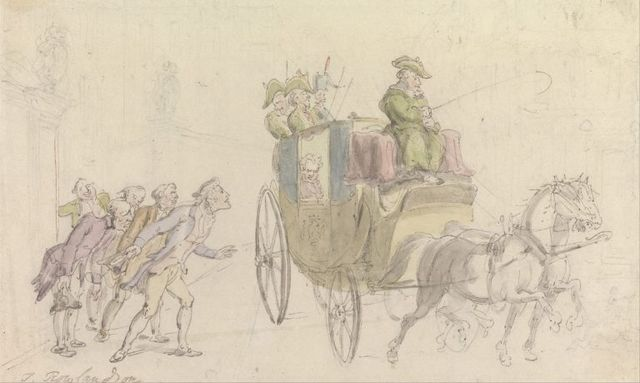 the vicar of wakefield attendance on a nobleman by thomas rowlandson 1817 768x459 f47b8