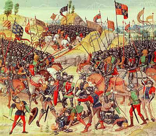 war of breton succesion battle of auray from froissants chronciles d9fd6