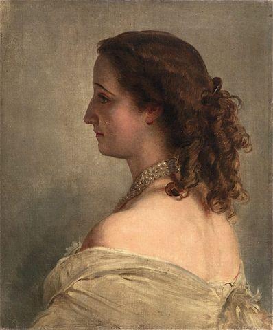 Empress Eugenie by Franz Xaver Winterhalter 1863 e1528667727455 b77a1