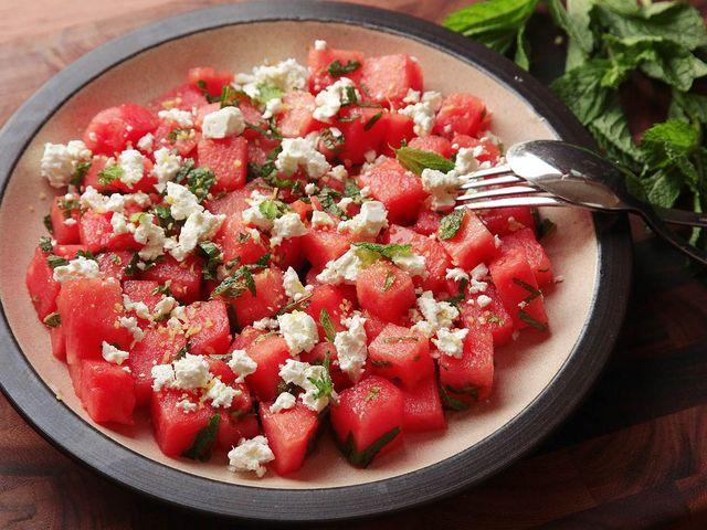 20160620 watermelon feta mint salad 21 1500x1125 10476