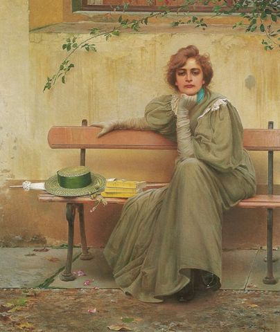 Sogni Dreams by Vittorio Matteo Corcos 1896 via Galleria Nazionale dArte Moderna e1535481215107 1 a22a7