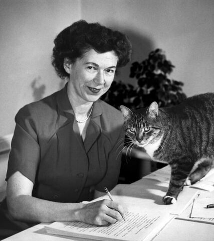 Beverly Cleary in 1955 199bc