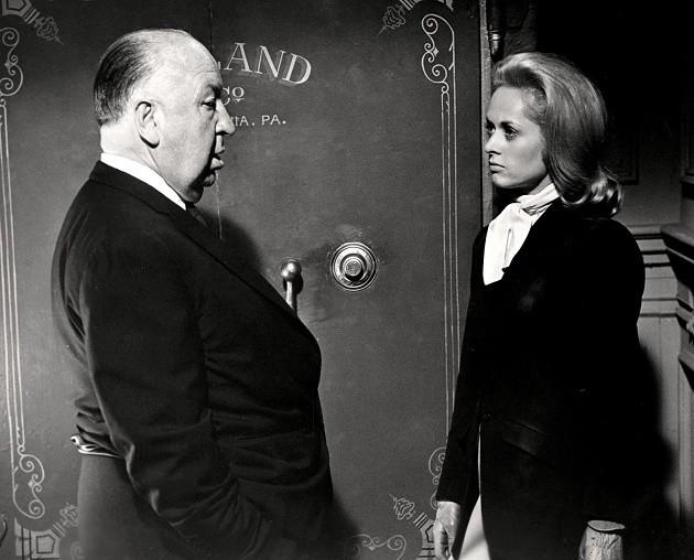 Hitchcock Hedren Marnie publicity photo 1964 5c4ce