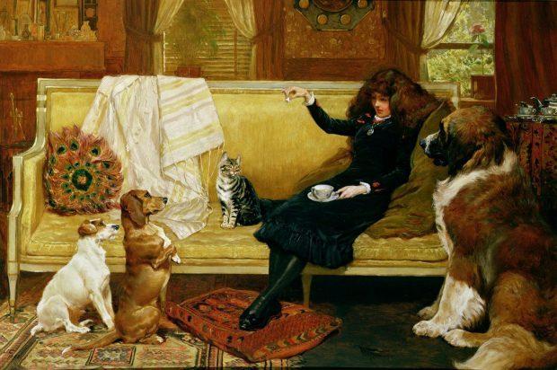Teatime Treat by John Charlton n.d. e1499937072952 4eea4