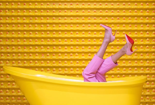 Yellow Bathtub 408c6
