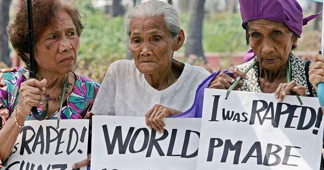 comfort women protest 33802