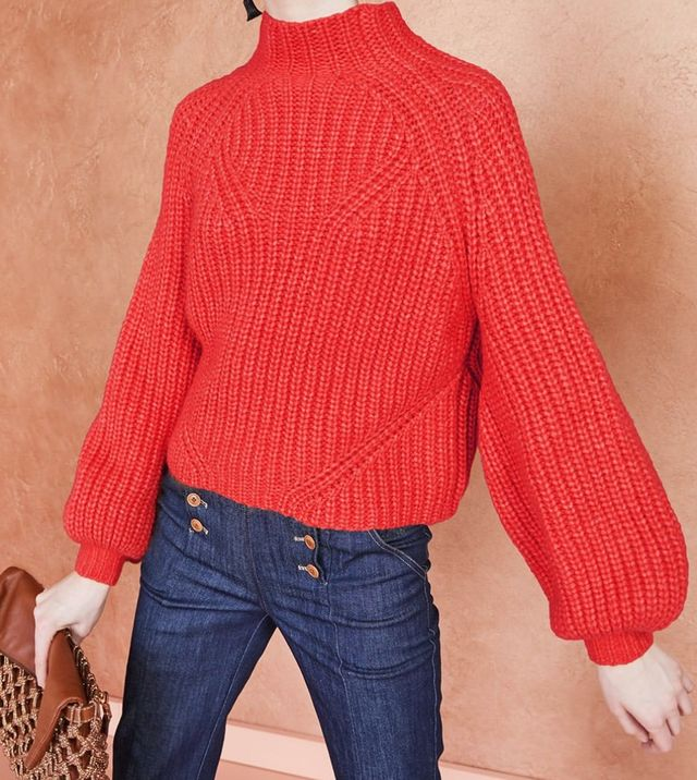 red sweater b9d65