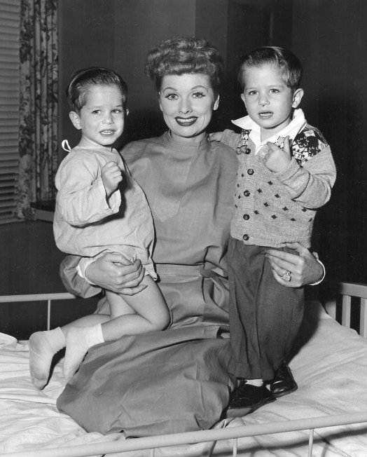 Lucille Ball I love Lucy Little Ricky actors 1955 cb151