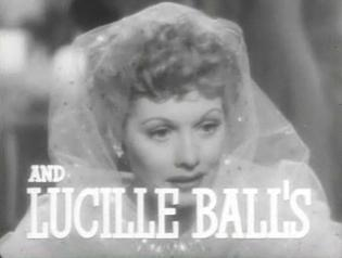 Lucille Ball in The Big Street trailer 9c487