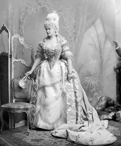 daisy greville countess of warwick as marie antoinette at the devonshire house costume ball in 1897 by james lafayette 6bfc1