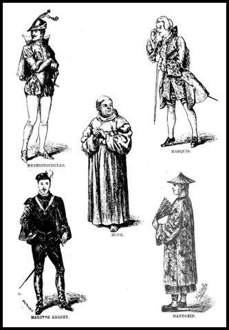 male character costumes for fancy dress balls and private theatricals 1884 2a467