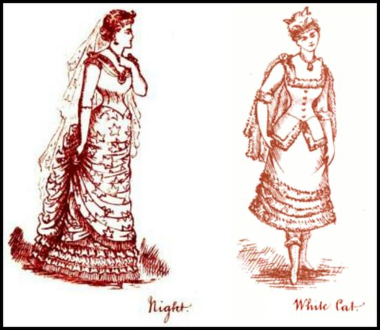 night and white cat fancy dresses described 18801 2d3a7