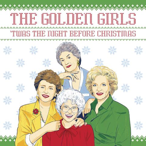 golden girls holiday book 40346