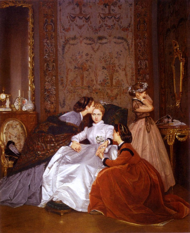 the reluctant bride by auguste toulmouche 1865 768x941 62e10