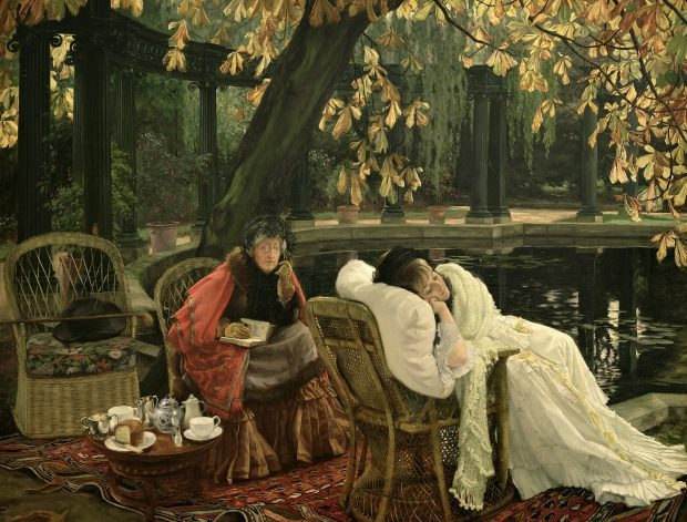 A Convalescent by James Tissot 1876 e1549397513507 9e432