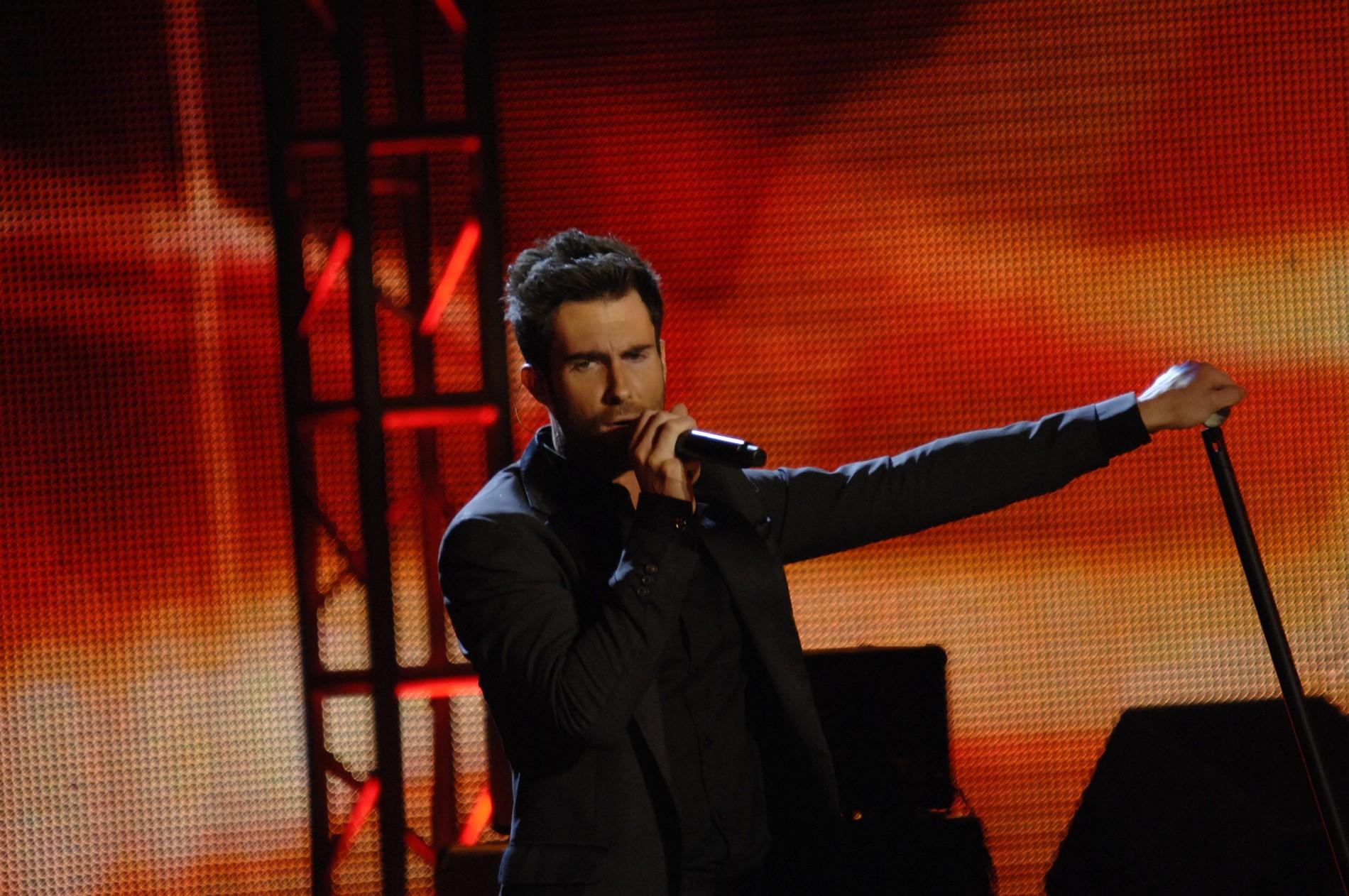 Adam Levine from Maroon 5 0e702
