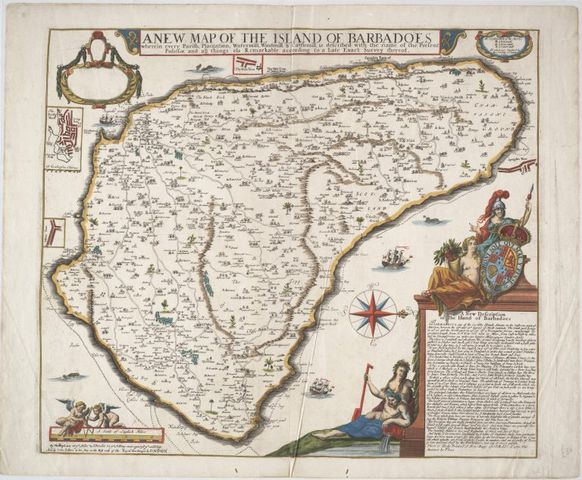 map of the island of barbados 1682 768x633 023df