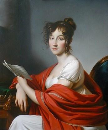 portrait of an unknown woman by alexander molinari 1800 517dd