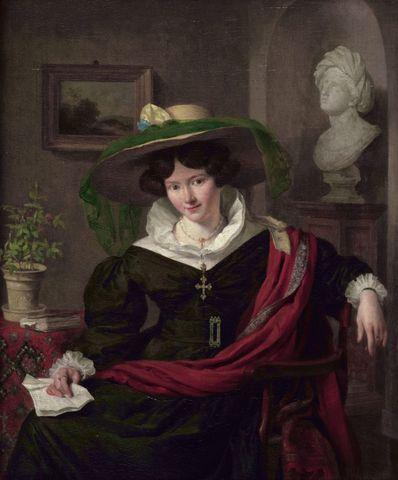 portrait of carolina frederica kerst by charles van beveren 1830 768x926 a8b56