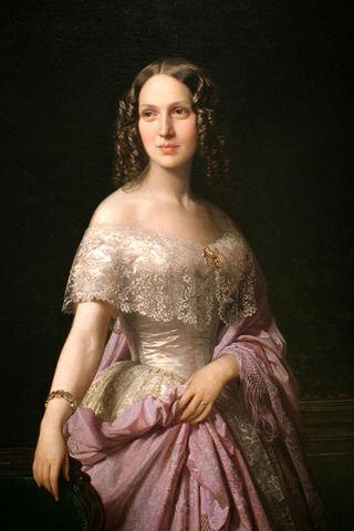 portrait of elizabeth wethered barringer by federica de madrazo 1852 f3791