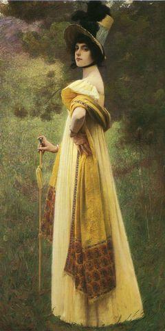 the shawl by charles sprague pearce 1900 bf8ea